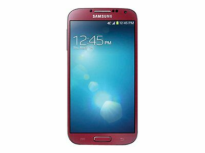 New Red Samsung Galaxy S4 IV SGH-I337 16GB AT&T Clean IMEI