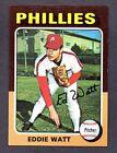 1975 Topps Eddie Watt Philadelphia Phillies #374 Baseball Card