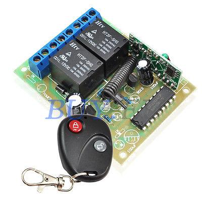 DC 12V RF Wireless Remote Control Switch Receiver+Transmitter 2 CH /4 CH