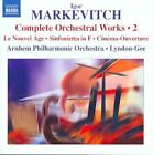 Igor Markevitch - Markevitch: Complete Orchestra Music, Vol.1 (2009)