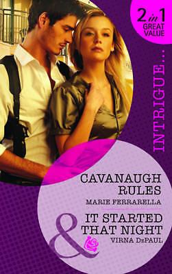 """""""AS NEW"""" DePaul, Virna, Ferrarella, Marie, Cavanaugh Rules: Cavanaugh Rules / It"""