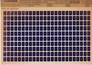 Liebherr-R-942-HD-SL-039-87-Ersatzteilliste-Unterwagen-Katalog-Liste-Microfich-Fich