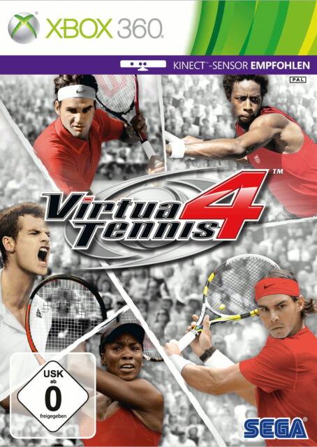 Virtua Tennis 4 (Microsoft Xbox 360, 2011, DVD-Box)