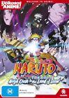 Naruto The Movie - Ninja Clash In The Land Of Snow! (DVD, 2012)