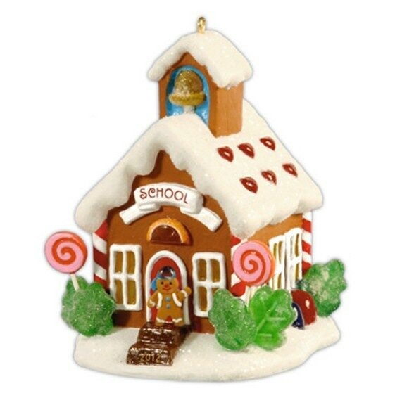 Hallmark 2012  Schoolhouse Noelville Series Ornament