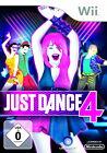 Just Dance 4 (Nintendo Wii, 2012, DVD-Box)