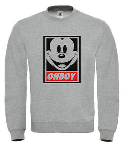 mickey mouse ohboy sweater sweatshirt jumper ymcmb dope