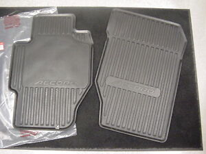 1998 2002 Oem Honda Accord 4d All Season Weather Front Floor Mats 08p13 S84 101p Ebay