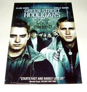 GREEN-STREET-HOOLIGANS-PP-SIGNED-POSTER-12-X8-ELIJAH