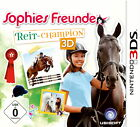 Sophies Freunde: Reit-Champion 3D (Nintendo 3DS, 2013, Keep Case)