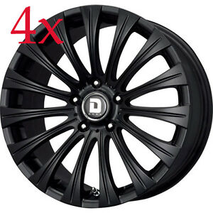Drag Wheels Dr 43 18x8 5 5x120 40 Cb72 56 Flat Black Full Bmw Rims For Bmw E90 Ebay