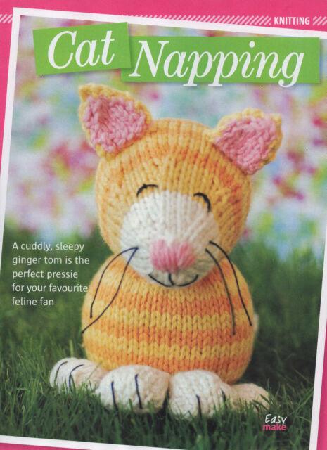 cat toy knitting pattern 99p