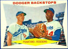 1960 Topps Dodger Backstops 292 Baseball Card