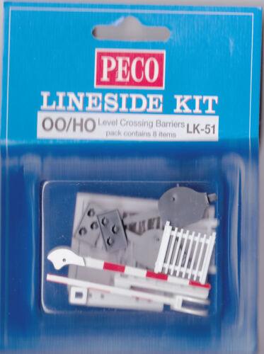 Peco LK-51 OO Gauge Model Railway Level Crossing Barriers New