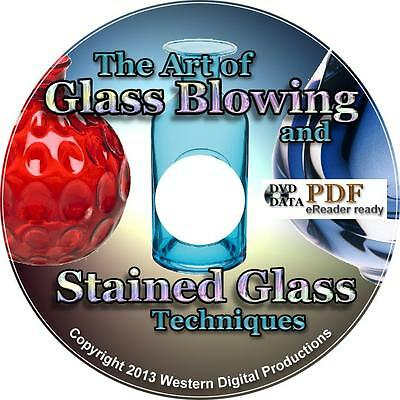 Learn Glass Blowing Painting 65 Books 40 Videos Stained Smoked Flint Glass Art