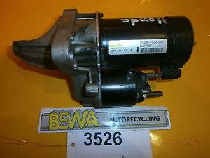 Anlasser-Honda-Civic-Valeo-31200-P1J-E020-Nr-3526