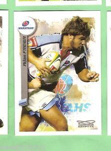 2003 RUGBY UNION CARD #9 ADAM FREIER, NSW WARATAHS