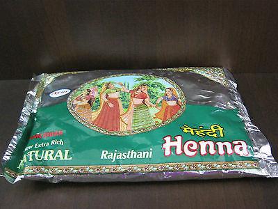 Ayur Natural Rajasthani Henna Heena Mehendi Powder 200 g - Hair Color, Tattoos