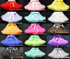 SOLID-COLOR-Multi-List-Pettiskirt-Skirt-Petti-Party-Dance-Tutu-Dress-Girl-1-8Y