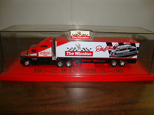"Dale Earnhardt---Transporter---The Winston Winner---With Case & Base---14""--1993"