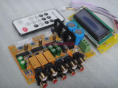 New version 3PCS PGA2311 Stero Remote Volume Controller Preamp Assembled Board