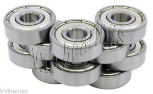 10-624ZZ-4x13x5-4mm-13mm-5mm-624Z-Miniature-Ball-Shielded-Radial-Ball-Bearings