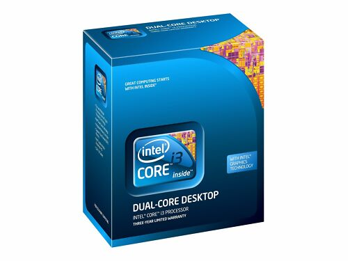 Intel BX80616I3530 SLBX7 Core i3-530 4M 2.93 GHz New Retail Box