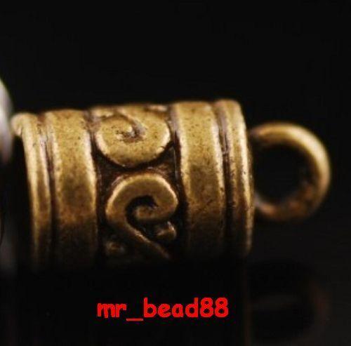 Free Ship 20 Pcs End Bead Cap Stopper Findings Fit 5mm Cord A11325 Color U Pick