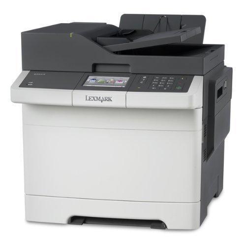 Lexmark CX410de 4-in-1 Farblaser-Multifunktionsgerät Fax, ADF, Duplex, Netzwerk