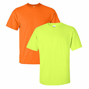 GILDAN SAFETY ORANGE GREEN T Shirt S 5XL 2000 Tee Yellow #2: s l300