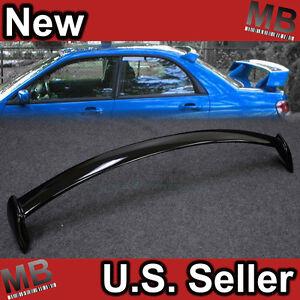 02 07 Subaru Impreza Wrx Sti Sedan Rear Wing Window Roof