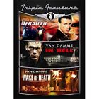 Derailed/In Hell/Wake of Death (DVD, 2010, 2-Disc Set)