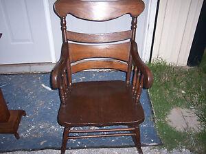 Solid-Oak-Rocker-Rocking-Chair-R141