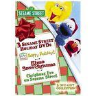 Sesame Street - Happy Holidays From Sesame Street Box Set (DVD, 2005, 3-Disc Set)