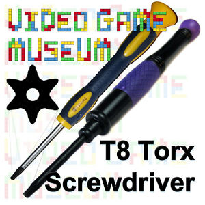 torx t8 security screwdriver tool open xbox 360 controller ps3 slim system ebay. Black Bedroom Furniture Sets. Home Design Ideas