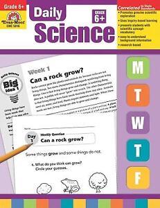 Daily Science, Grade 6 by Evan-Moor (2009, Paperback)