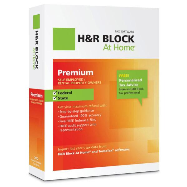 H&R Block At Home Premium (Retail) - Full Version for Windows, Mac