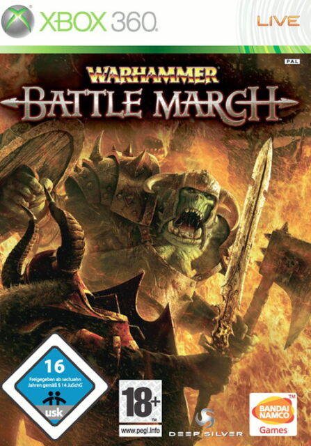 Warhammer: Battle March (Microsoft Xbox 360, 2008, DVD-Box)
