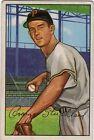 1952 Bowman George Strickland Pittsburgh Pirates #207 Baseball Card