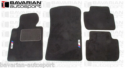 """OEM BMW Floor Mats - with """"M3"""" Logo - Anthracite - BMW E46 M3 Coupe 2001-2006"""