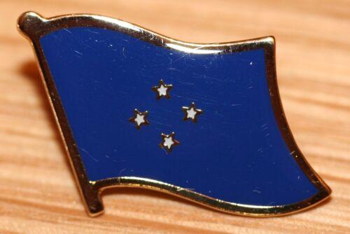 MICRONESIA Country Metal Flag Lapel Pin Badge