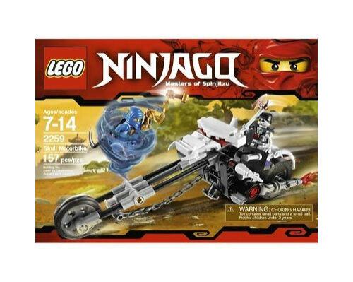 LEGO Ninjago 2259 Skull Motorbike NEW SEALED
