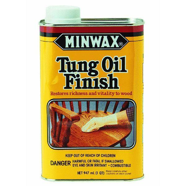 Quart Interior Tung Oil Finish by Minwax 67500