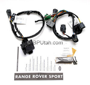 oem 06 09 range rover sport tow hitch trailer wiring harness electrics ywj500170 ebay