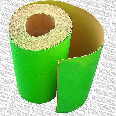 """80s Fluro Green  Skateboard / Longboard Grip Tape  - 10"""" Wide - Pick the length"""