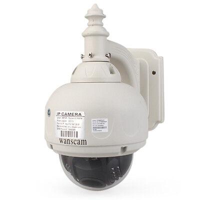 2015 Wanscam PTZ Wireless Waterproof Outdoor IP Camera 3X Optical Zoom IR-Cut