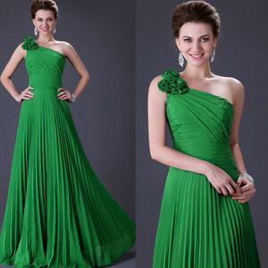 Sexy-One-Shoulder-Pleated-Lady-Gowns-Prom-Evening-Formal-Party-Long-Maxi-Dress