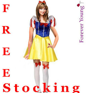 Charming-Snow-White-Woman-Fancy-Dress-Costume-Fever-Edition-Free-Stocking