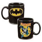 Vandor 76065 Batman Ceramic Mug, Black, 12-Ounce - VN76065