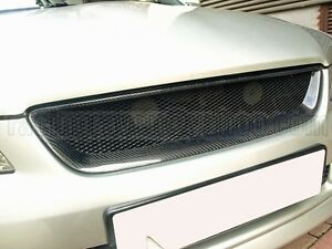 REAL-CARBON-FIBER-LEXUS-98-05-IS200-IS300-RS200-ALTEZZA-FRONT-MESH-GRILLE